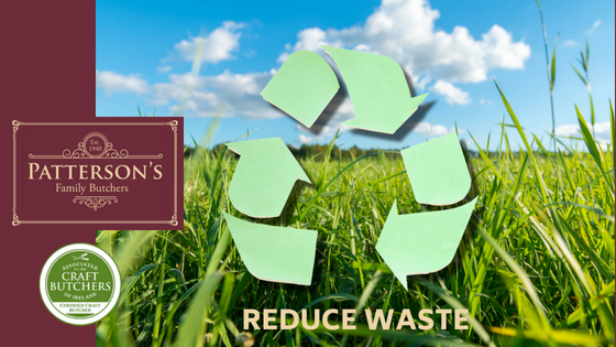Reduce waste Pattersons