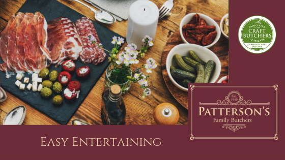Easy Entertaining Patterson's Butchers