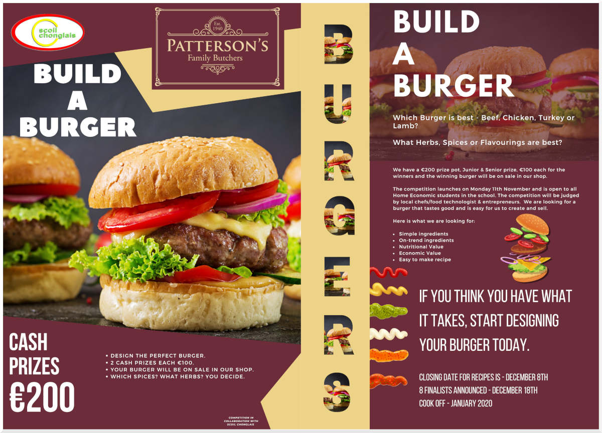 Build a Burger Pattersons Butchers
